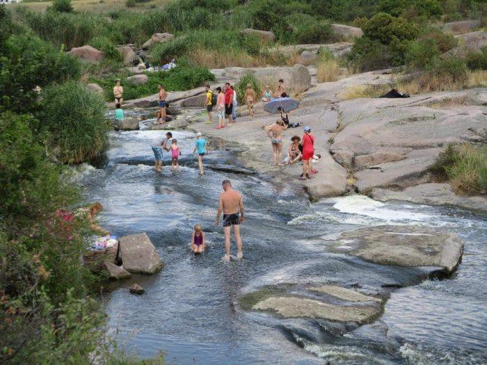 Развлечения - Экскурсия на Токовские водопады и гранитные карьеры