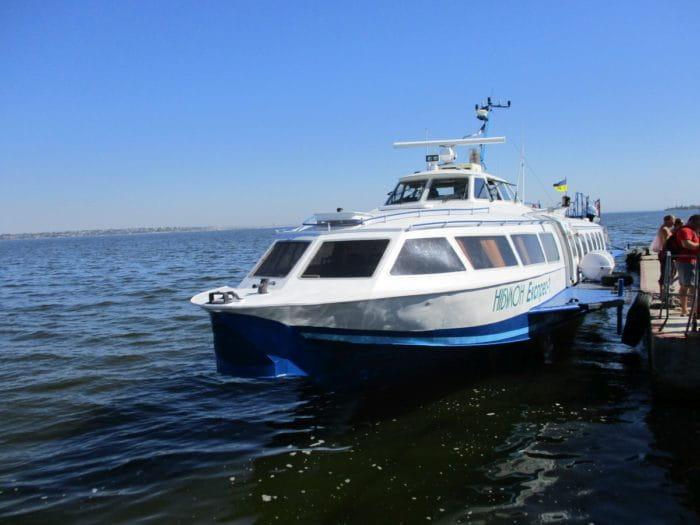 Розваги Херсон пам'ятки - Пасажирське судноплавство на нижньому Дніпрі