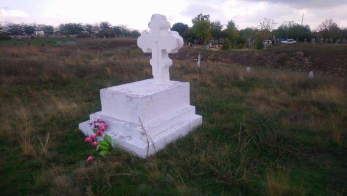 Iсторичні пам'ятки Берислав. - Некрополь Кримської війни