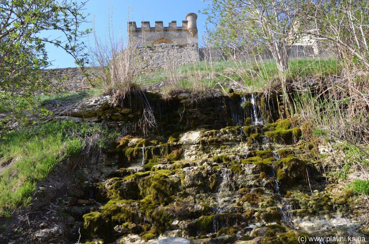 Нова Каховка пам'ятки Природні пам'ятки - Водоспади в Козацькому