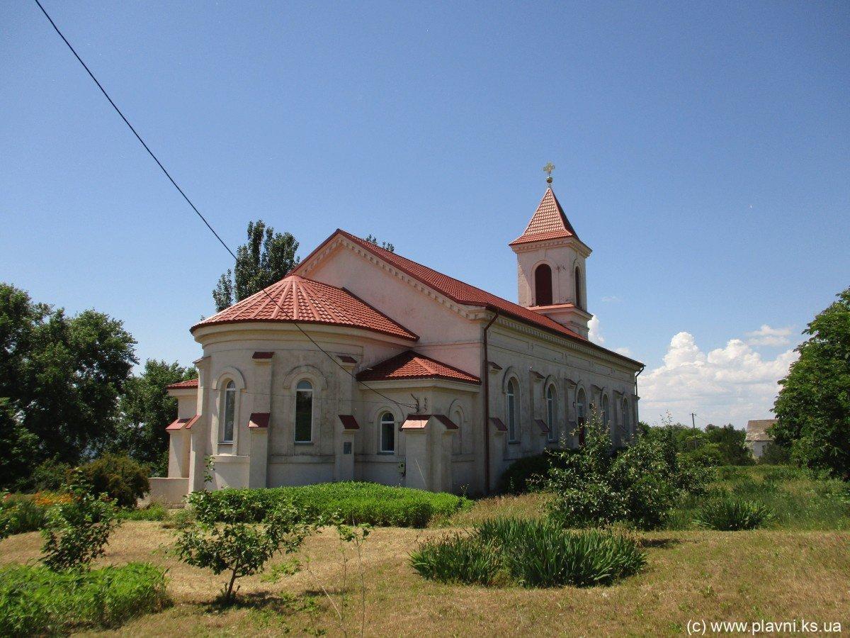 Берислав пам'ятки - Село Зміївка (Старошведське)